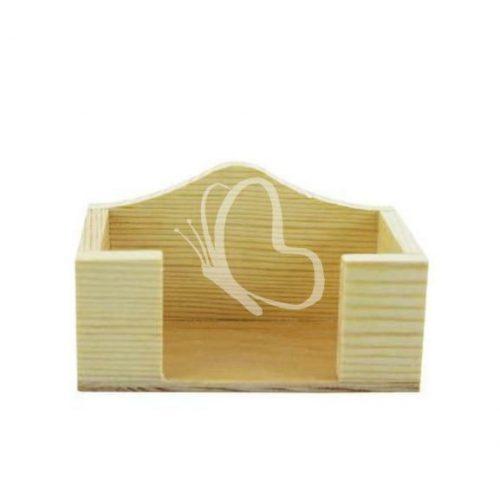 Névjegytartó asztali 11,5x4,5x6 cm