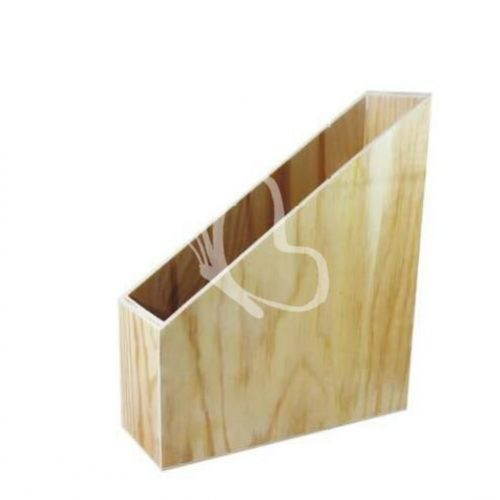 Irattartó papucs fából 25x30,5x9 cm