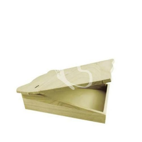 Hullámos tetejű doboz 28,5x7,5x24 cm