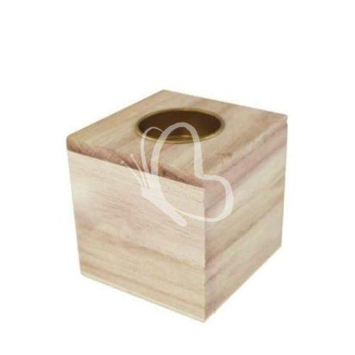 Gyertyatartó kocka 8x8x8 cm