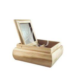 Tükrös doboz közepes 13x13x5 cm