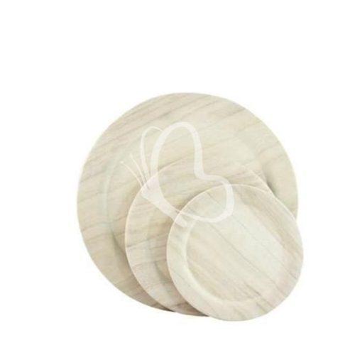 Fa tányér 15 cm átmérő