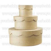 Cakkos tetejű kis dobozok 3db-os  szett 8x6/13,5x7/20x8 cm