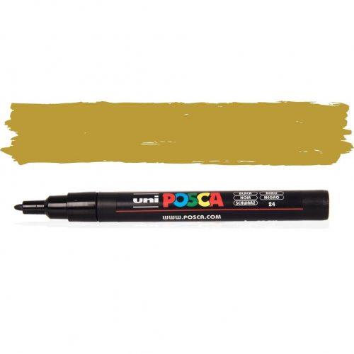 UNI POSCA PC-3M 1.3 mm Arany