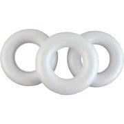 Polisztirol félkoszorú 18 cm