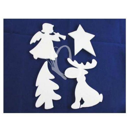 Karácsonyi figurák (4 db/cs)