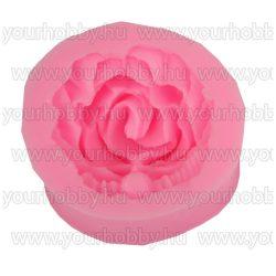 Szilikon nyomóforma lágy, Rózsa 4,2x4,2x2,2 cm
