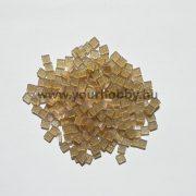 Akrilmozaik csillámos 0,5x0,5 cm - Arany