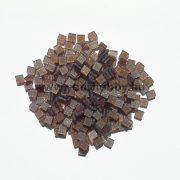 Akrilmozaik csillámos 0,5x0,5 cm - Hennabarna