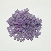 Akrilmozaik csillámos 0,5x0,5 cm - Lila