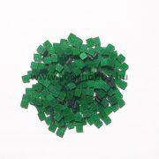 Akrilmozaik csillámos 0,5x0,5 cm - Zöld
