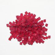Akrilmozaik csillámos 0,5x0,5 cm - Burgundi