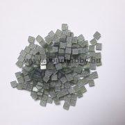 Akrilmozaik csillámos 0,5x0,5 cm - Mohazöld