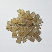 Akrilmozaik csillámos 1x1 cm - Arany