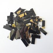 Üvegmozaik 0,5x2 cm - Arany-fekete