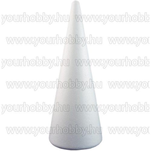 Polisztirol kúp 7x12,5 cm 2 db/csom