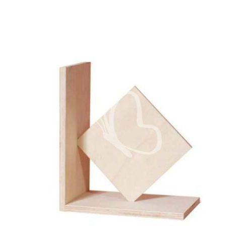 Könyvtámasz négyzet 18x15,5 cm