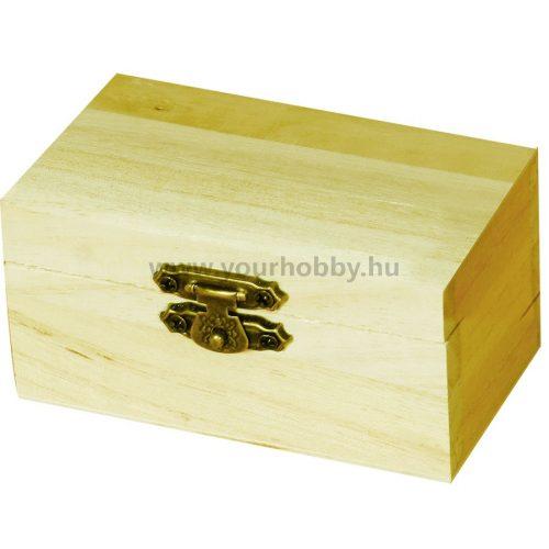 Minidoboz kincsesláda 9x4,7x5,5 cm
