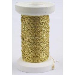 Drót, arany színű / 50 m