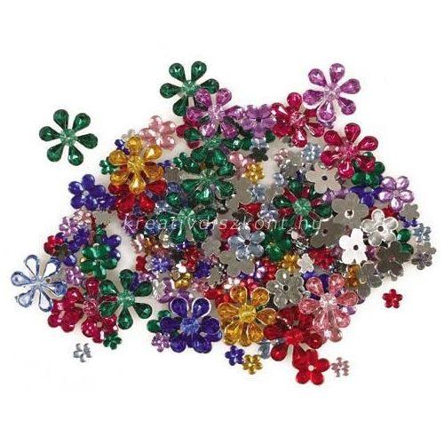 Folia® Ékszerkő virágok 200 db