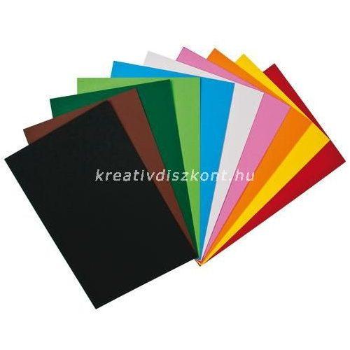 Fotókarton 25x35 cm 10 lap Vegyes színek