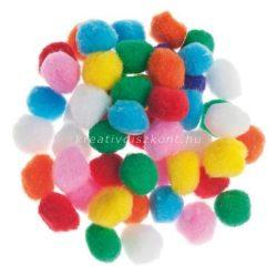 Pompon színes 50 db
