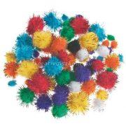 Pompon glitteres 78 db