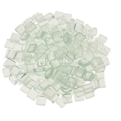 Mozaiklapok, puha üveg négyzet / 200 g, 1x1 cm
