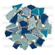Cserép mozaik kék mix 500g