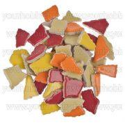 Cserép mozaik sárga-piros mix 500g