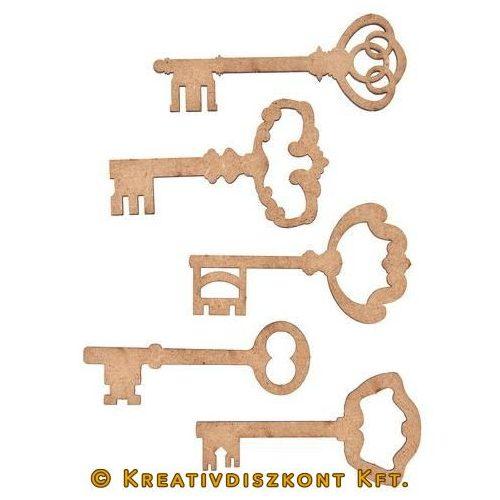 MDF kulcsok 5 részes