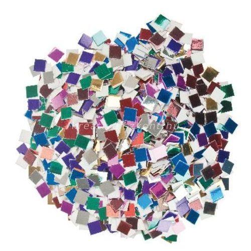 Papírmozaik metál színekben / kb. 10000 db