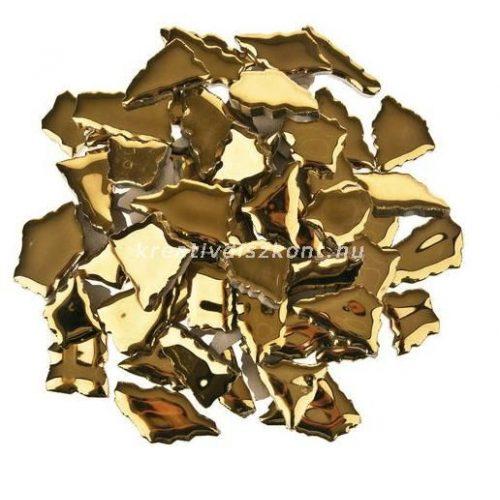 Cserép mozaiklapok 500 g arany