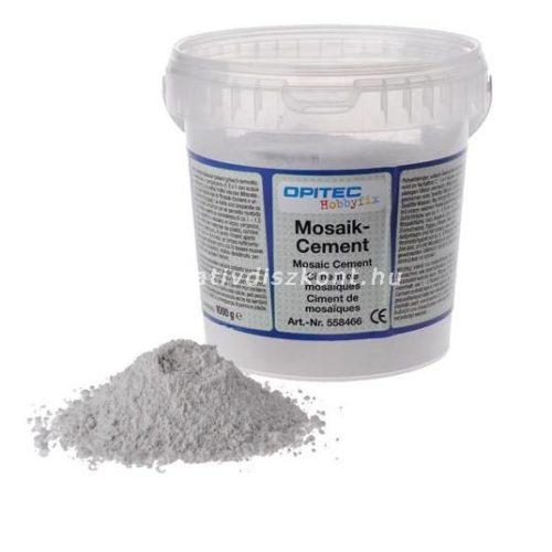 Mozaik fehér cement 1 kg