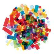 Mozaiklapok akryl 100g színes mix