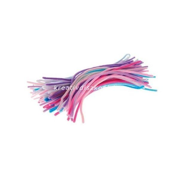 Zseníliadrót pasztell színek 100 db