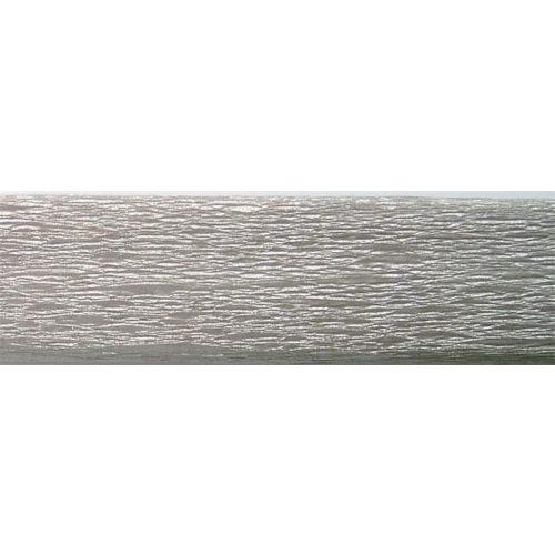 Krepp papír 50x200 cm ezüst