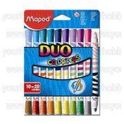 "Maped Filctoll ""Color Peps Duo"" 10db/20szín"