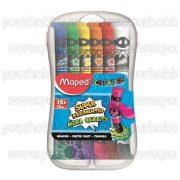 MAPED Tempera készlet 12 darabos műanyag dobozban