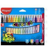 MAPED Color'Peps Jungle Filctoll készlet 2,8 mm 8 szín