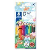"""STAEDTLER """"Noris Club"""" Színes ceruza készlet hatszögletű 12 szín"""