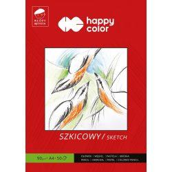 Happy Color Művész vázlatpapír 90g A4 50 lap
