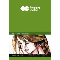 Happy Color Rajzlap 300g A4 15 lap