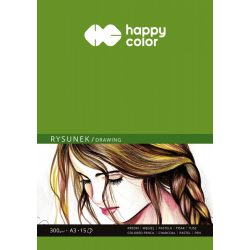 Happy Color Rajzlap 300g A3 15 lap