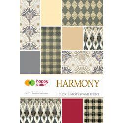 Happy Color Effekt díszpapír készlet 170-220g 20x29 cm 10 lap Harmónikus