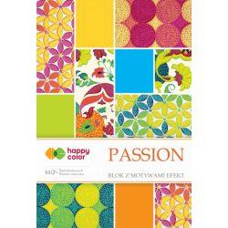 Happy Color Effekt díszpapír készlet 170-220g 20x29 cm 10 lap Szenvedélyes