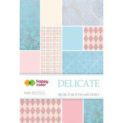 Happy Color Effekt díszpapír készlet 170-220g 20x29 cm 10 lap Gyengéd