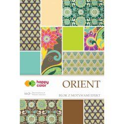 Happy Color Effekt díszpapír készlet 170-220g 20x29 cm 10 lap Keleties
