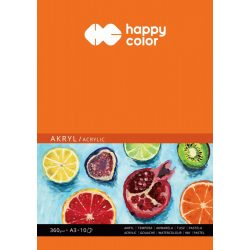Happy Color Akriltömb 360g A3 10 lap