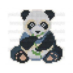 Collection D'Art Gyémántszemes kirakó mágnes készlet Panda
